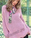 Модный свитер женский, фото.