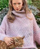 Мохеровый свитер, фото.
