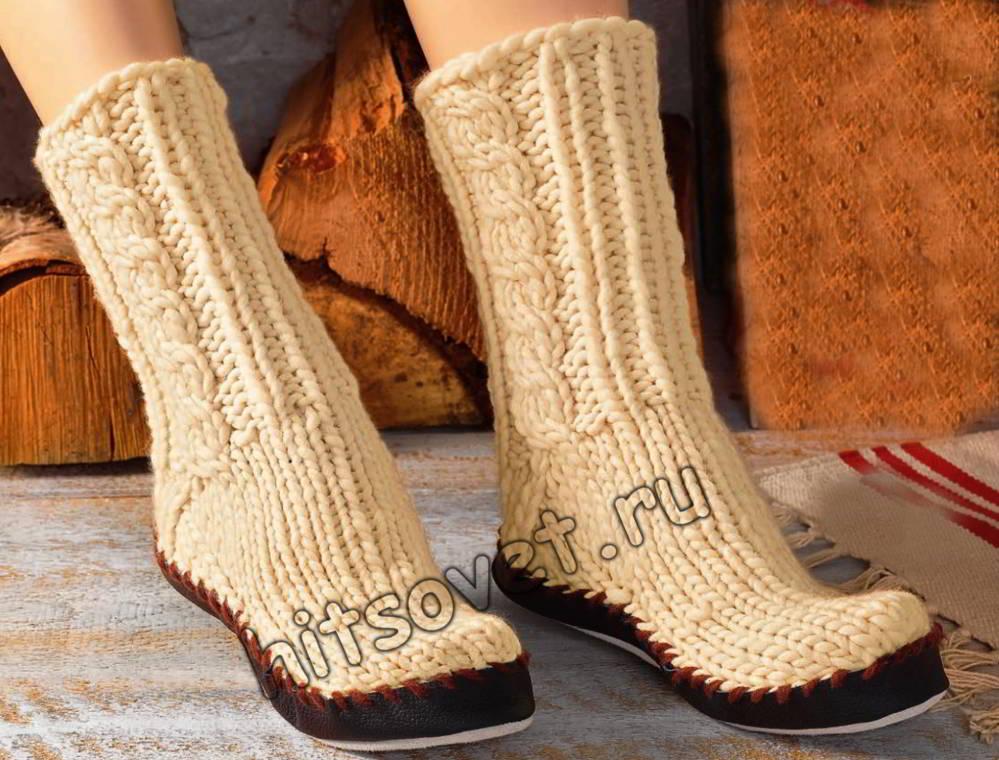 Носки тапочки, фото.