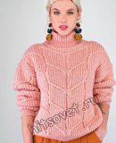 Свитер модный женский, фото.