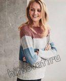 Полосатый свитер, фото 1.