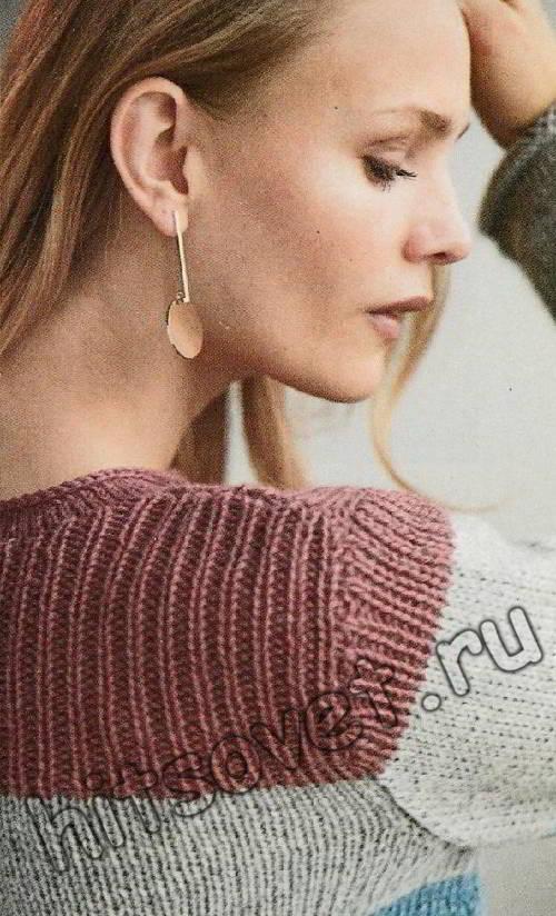 Полосатый свитер, фото 3.