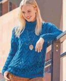 Классический осенний свитер для женщин