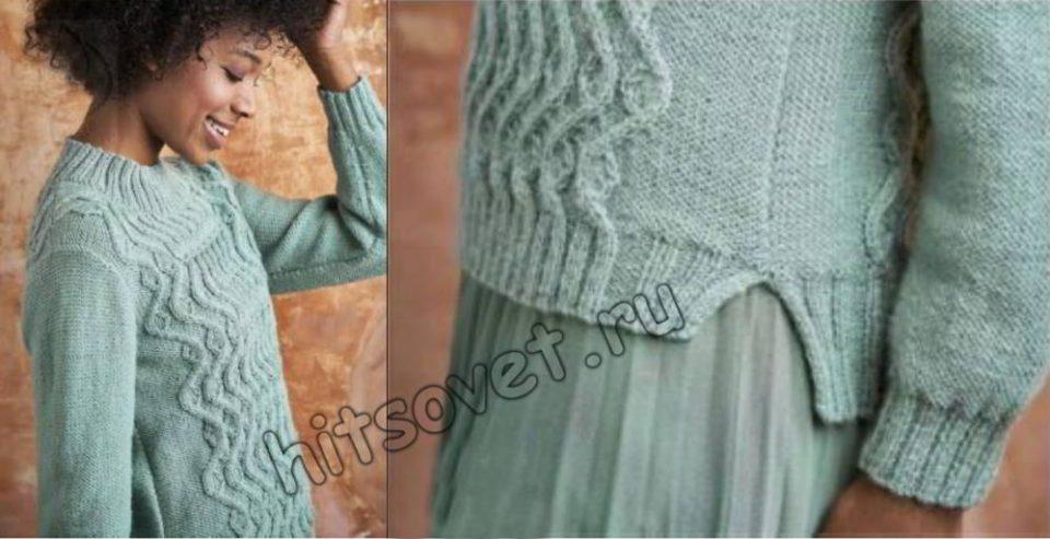 Вязание женского свитера Linwood, фото 2.