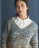 Вязание пуловера Murray