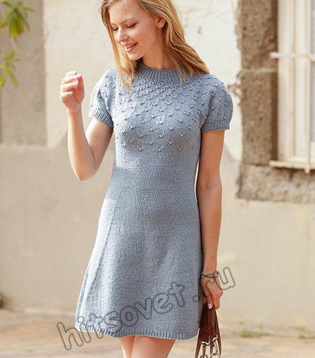 Вязание платья Enchanted Evening, фото 1.