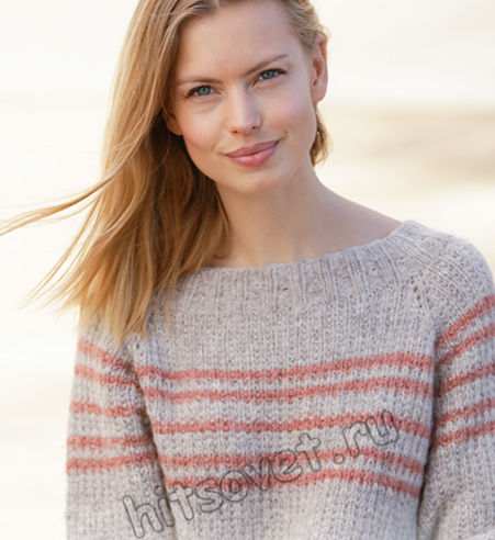 Вязание свитера Sweet Seventeen, фото 2.