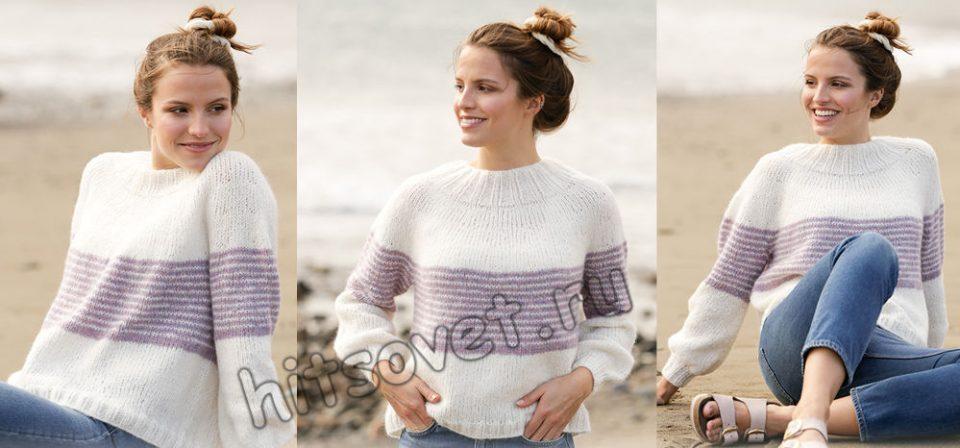 Вязание свитера Caught in the Middle, фото 1.