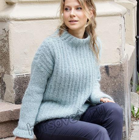 Вязание свитера Searching for Spring