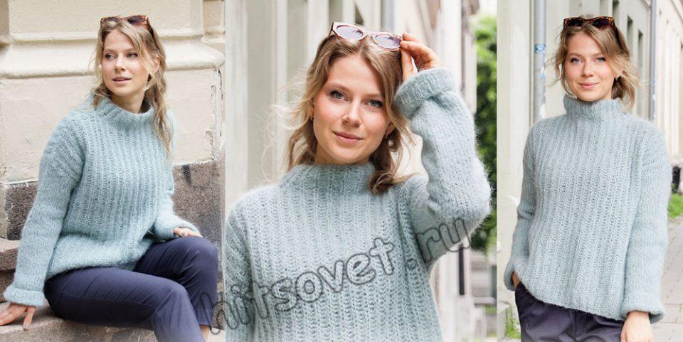 Вязание свитера Searching for Spring, фото 2.