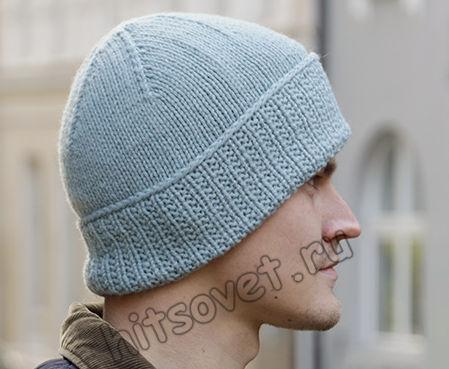 Мужская вязаная шапка Fisher's Friend