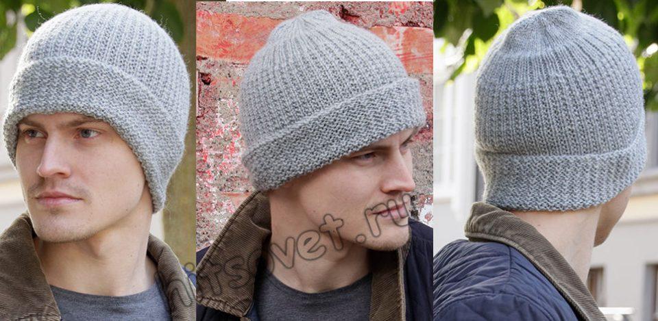 Мужская вязаная шапка Polar Protector, фото.