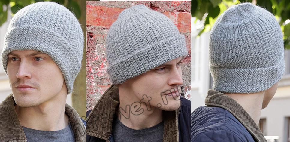 Мужская вязаная шапка Polar Protector