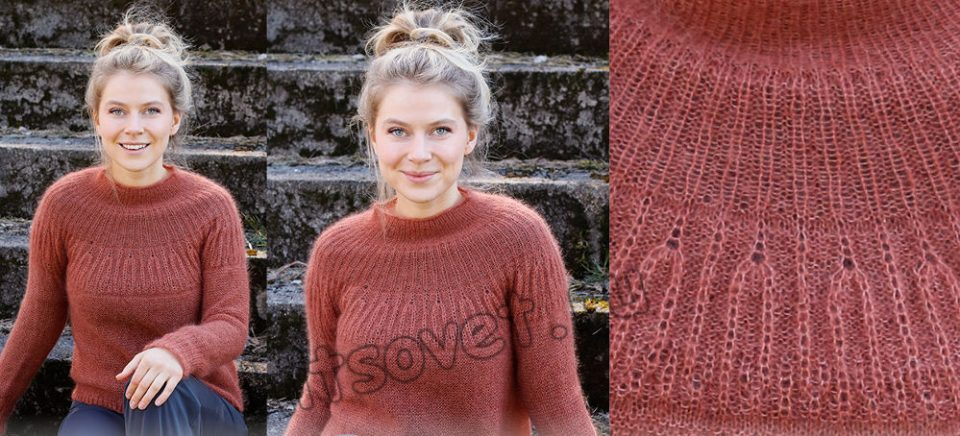Вязание свитера Autumn Days, фото.