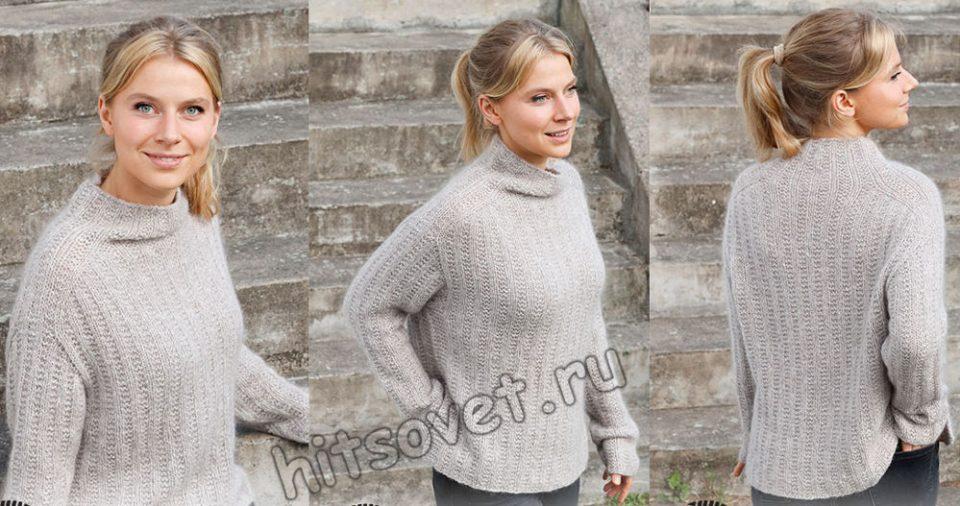 Вязание свитера Sunday Vibes, фото 1.