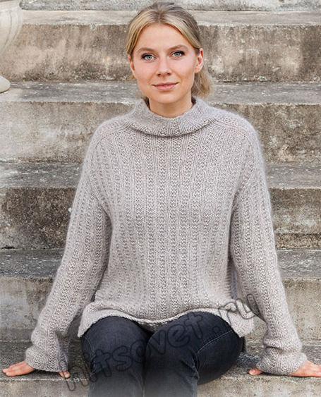 Вязание свитера Sunday Vibes