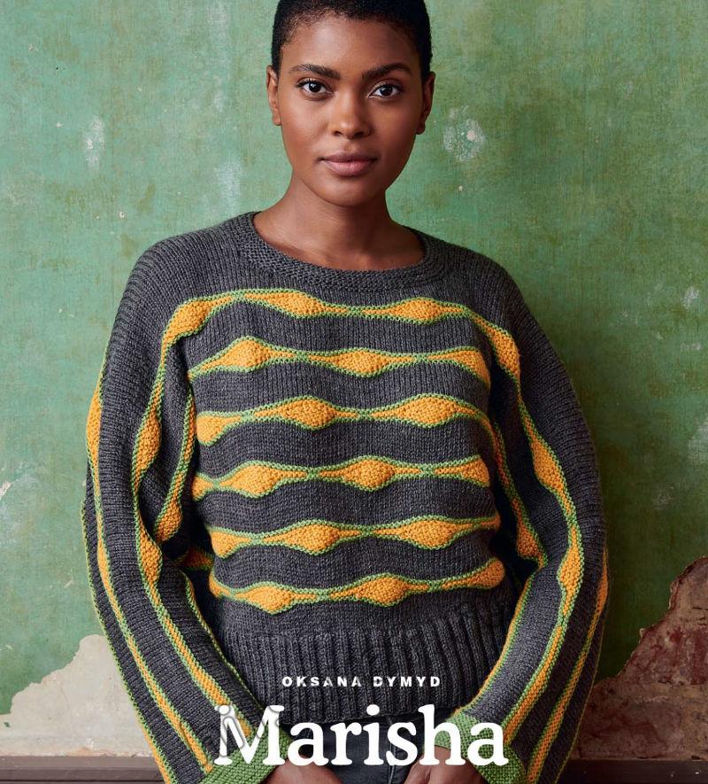 Вязание джемпера Marisha
