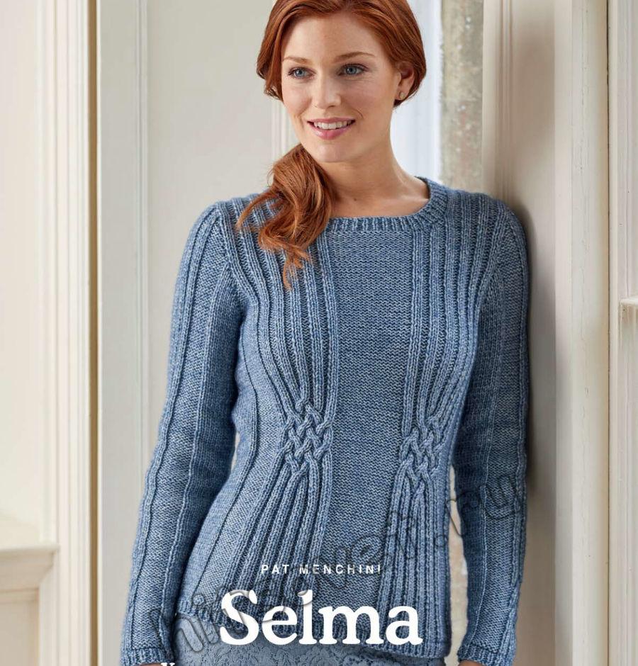 Вязание пуловера Selma