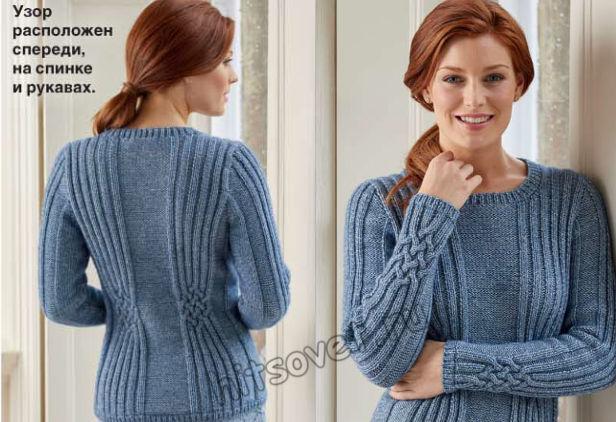 Вязание пуловера Selma, фото 2.