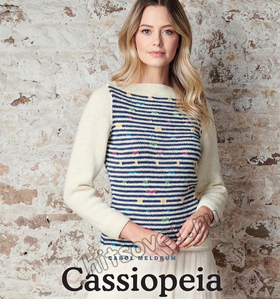 Вязание джемпера Cassiopeia, фото 1.