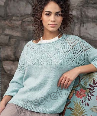 Вязание джемпера Dinah, фото 2.