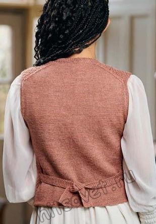 Вязание жилета Danbury, фото 2.