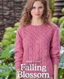 Вязание джемпера Falling Blossom