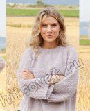 Вязание свитера Lavender Sprinkles