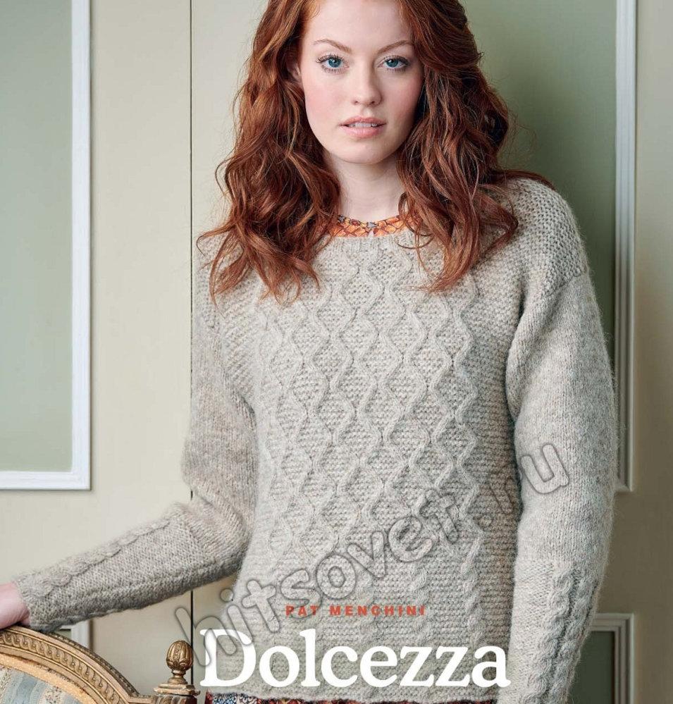 Вязание пуловера Dolcezza, фото 1.