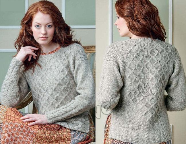 Вязание пуловера Dolcezza, фото 2.
