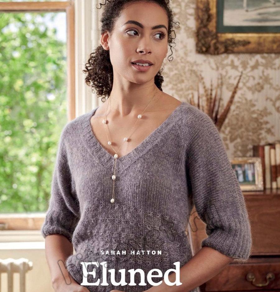 Вязание пуловера Eluned, фото 1.