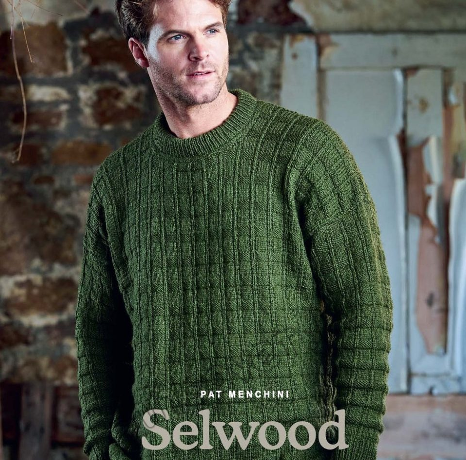 Mужской вязаный свитер Selwood, фото 1.
