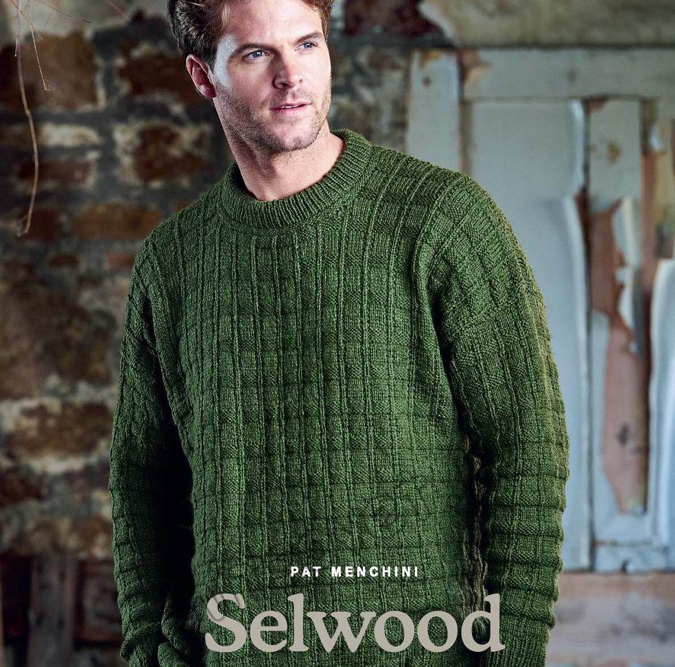 Mужской вязаный свитер Selwood
