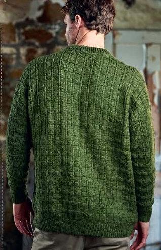 Mужской вязаный свитер Selwood, фото 2.