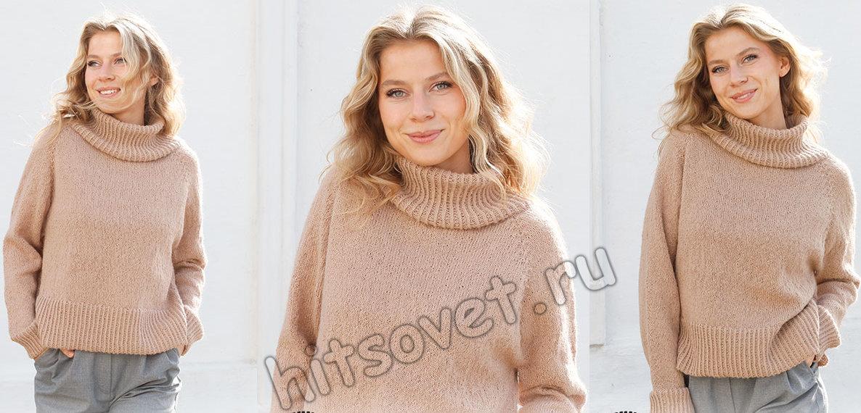 Вязание свитера Chill Chaser