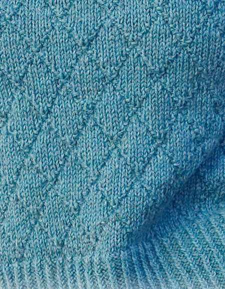 Вязание свитера Deep Sea Diamond, фото 2.