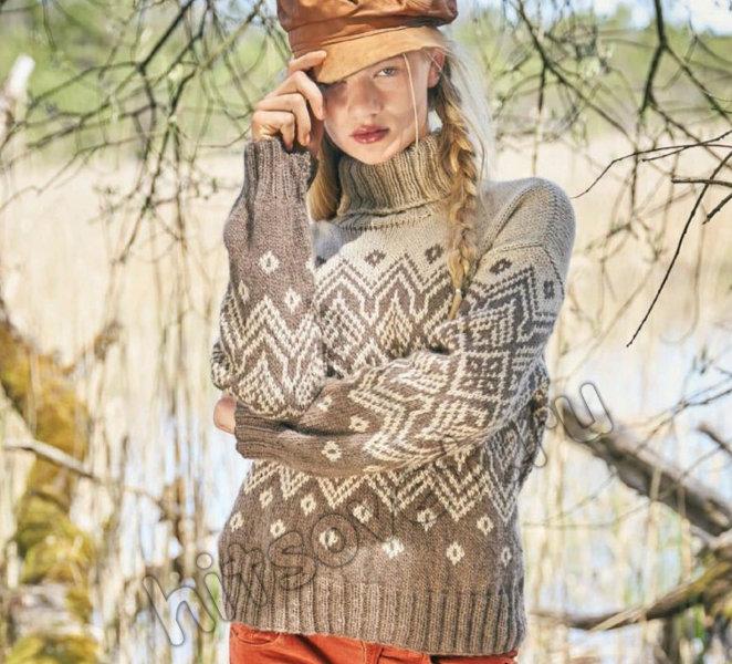 Вязание свитера Tammara, фото.