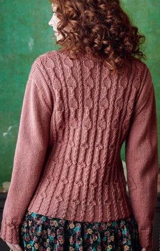 Вязание женского пуловера Beith, фото 2.