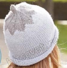 Вязание шапки Frosty Berry, фото 2.