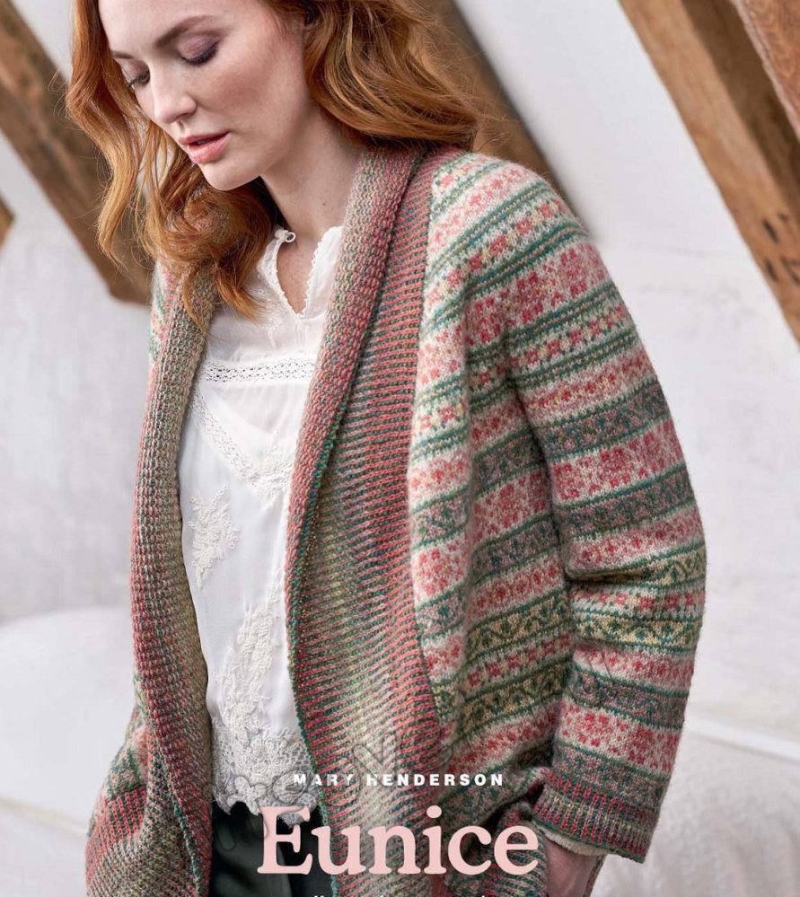 Вязание жакета Eunice