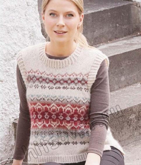 Вязание жилета Muse Vest, фото.
